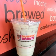 New Pistachio Iced Coffee from Dunkin' Donuts