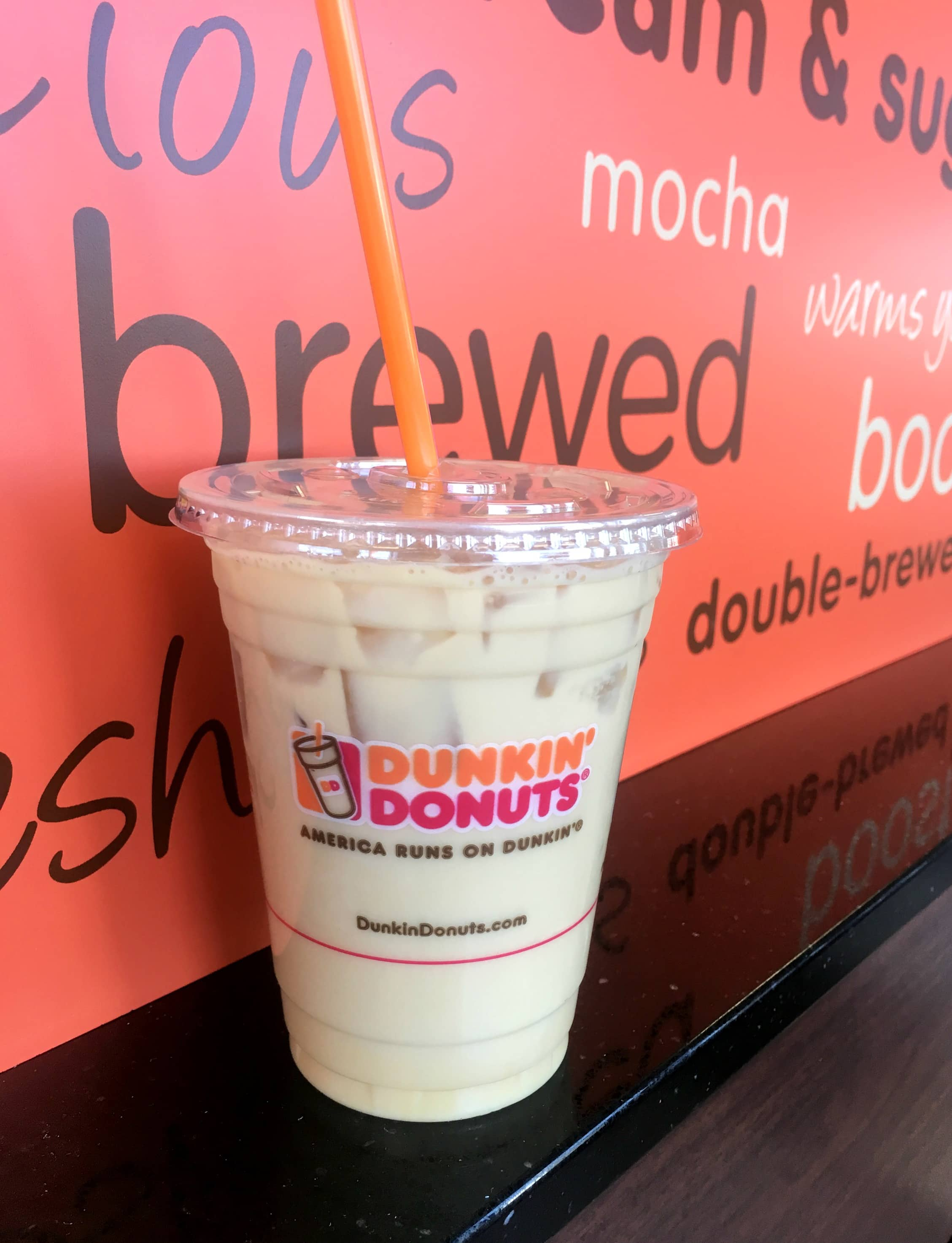new pistachio iced coffee from dunkin u0026 39  donuts