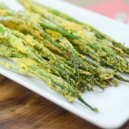 Toaster Oven Giveaway & Baked Parmesan Asparagus