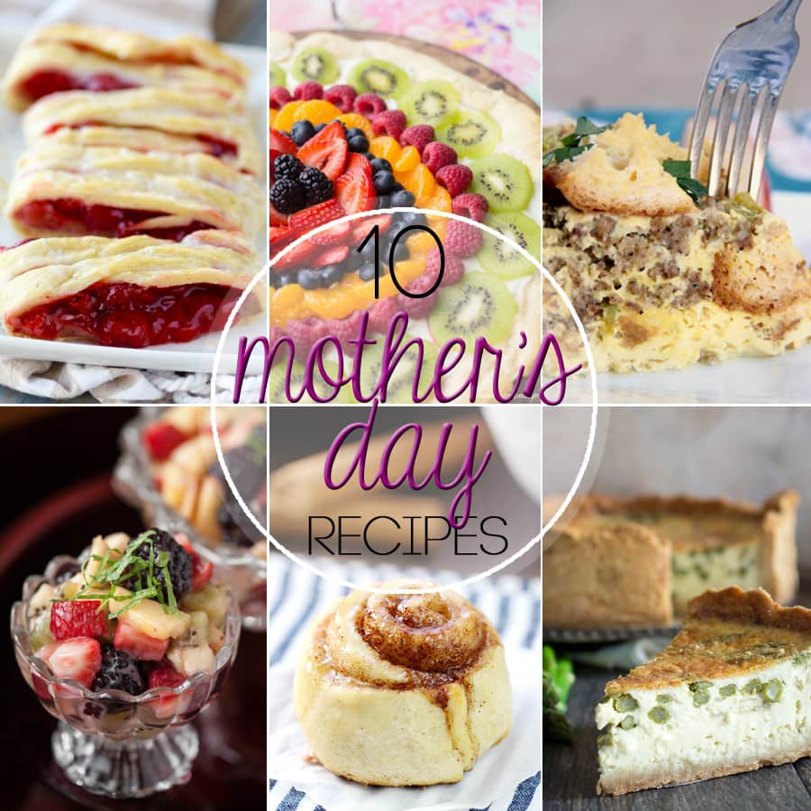 10 Mother's Day Brunch Recipes - Mommy Hates Cooking