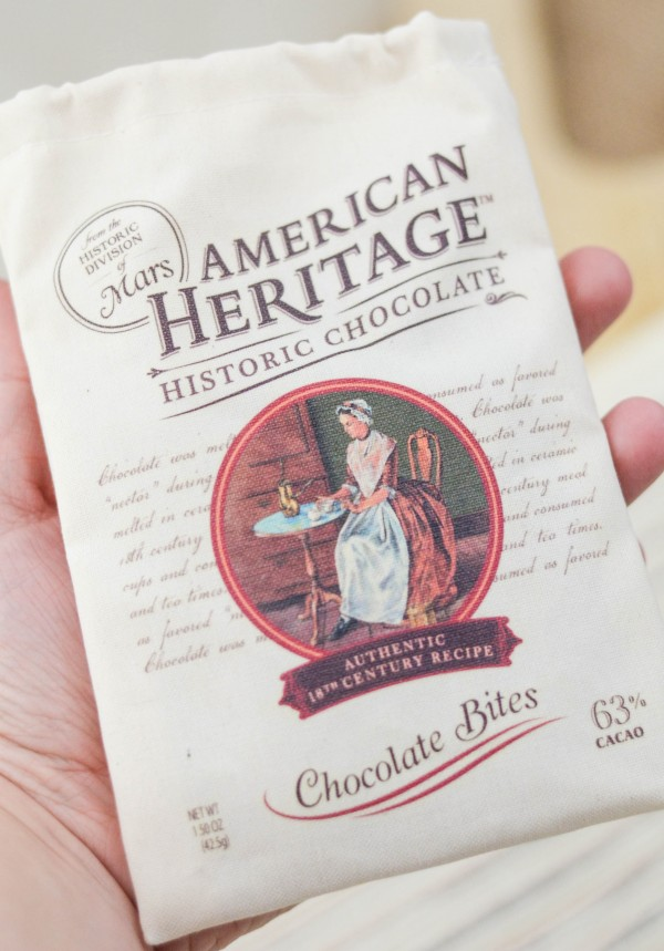 American Heritage Chocolate Bites #ChocolateHistory #IC AD
