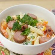 chicken-sausage-pasta-bowls-4