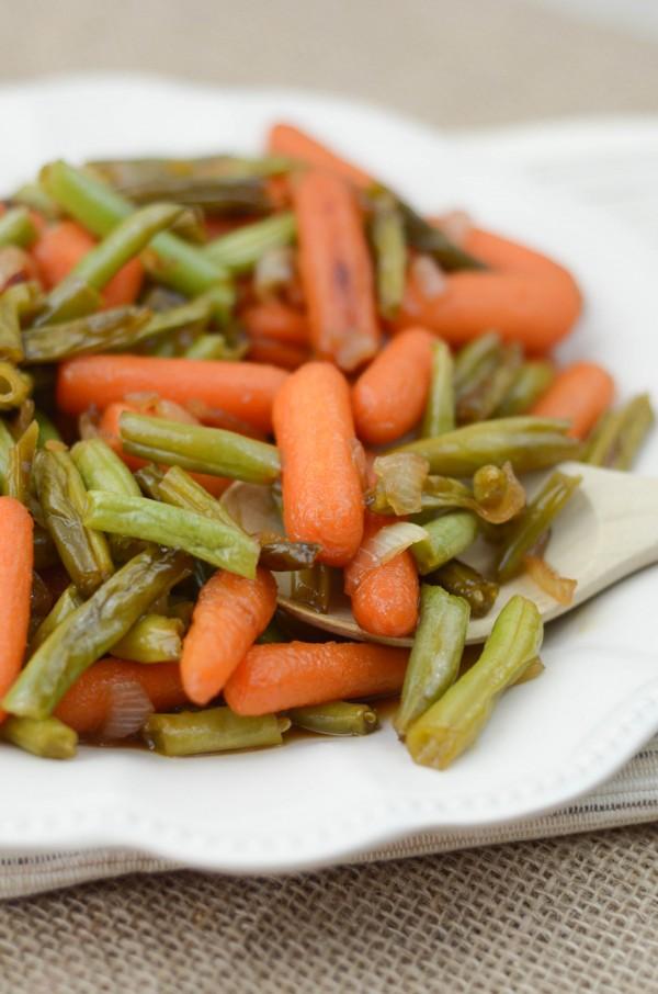 Cider Glazed Vegetables