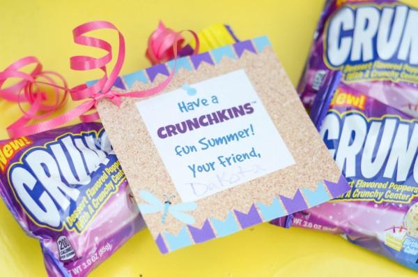 Summer Fun with Crunchkins™ Dessert Poppers Printable @CrunchkinsCandy #CrunchkinsCandy #Sponsored