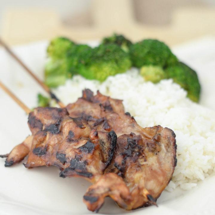 Gluten-Free Chicken Teriyaki Skewers
