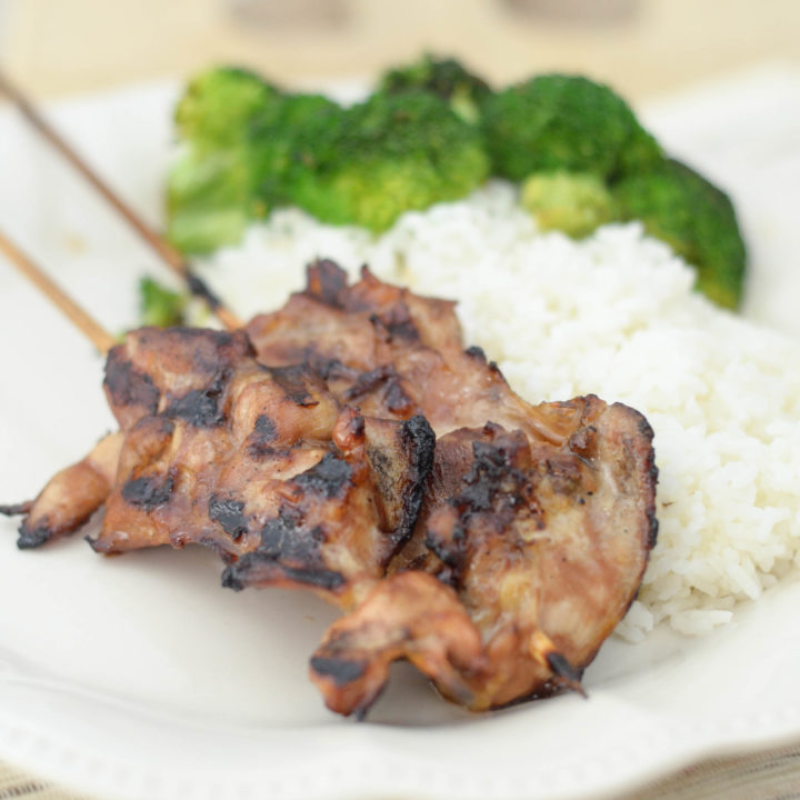 Gluten-Free Chicken Teriyaki Skewers
