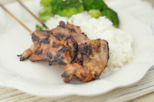 Grilled Teriyaki Skewers