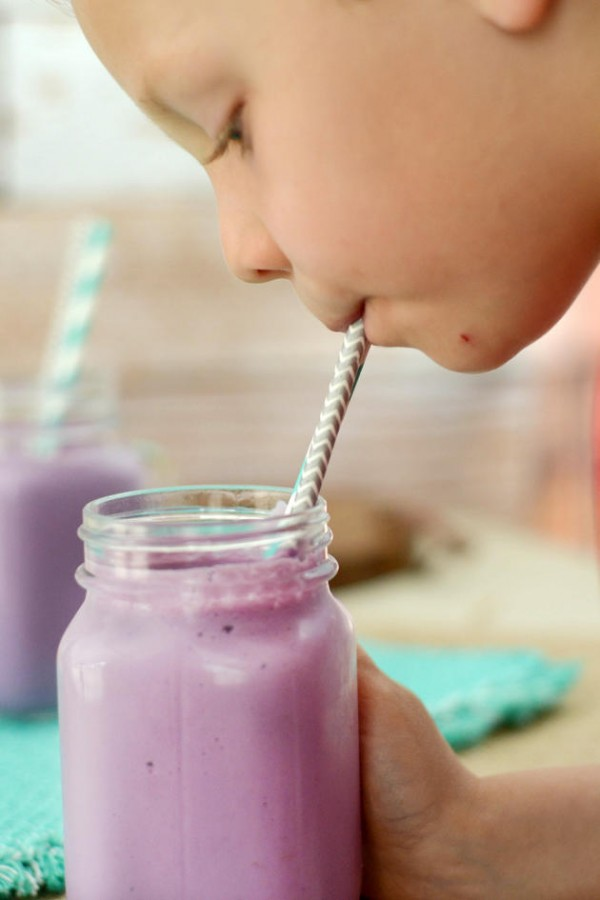 Purple Cow Milkshake