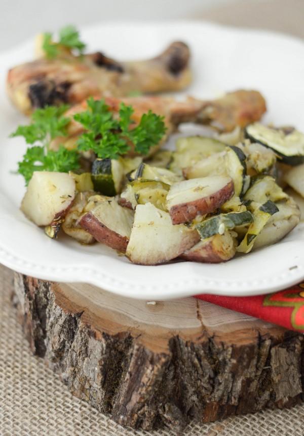 Rosemary Zucchini & Potatoes