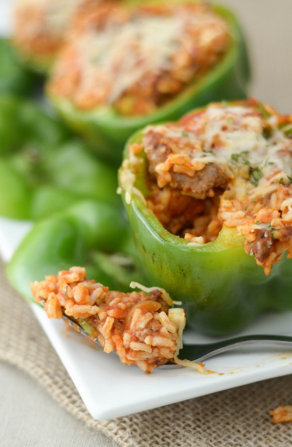 How to Make Stuffed Peppers - Sharing a quick and easy method to making Stuffed Peppers. This Stuffed Peppers Recipe is perfect for all families!