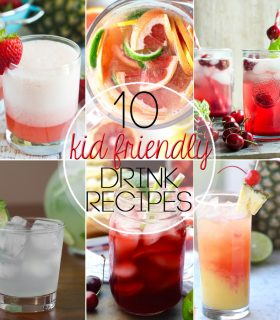 Top 10 Kid Friendly Summer Drink Recipes