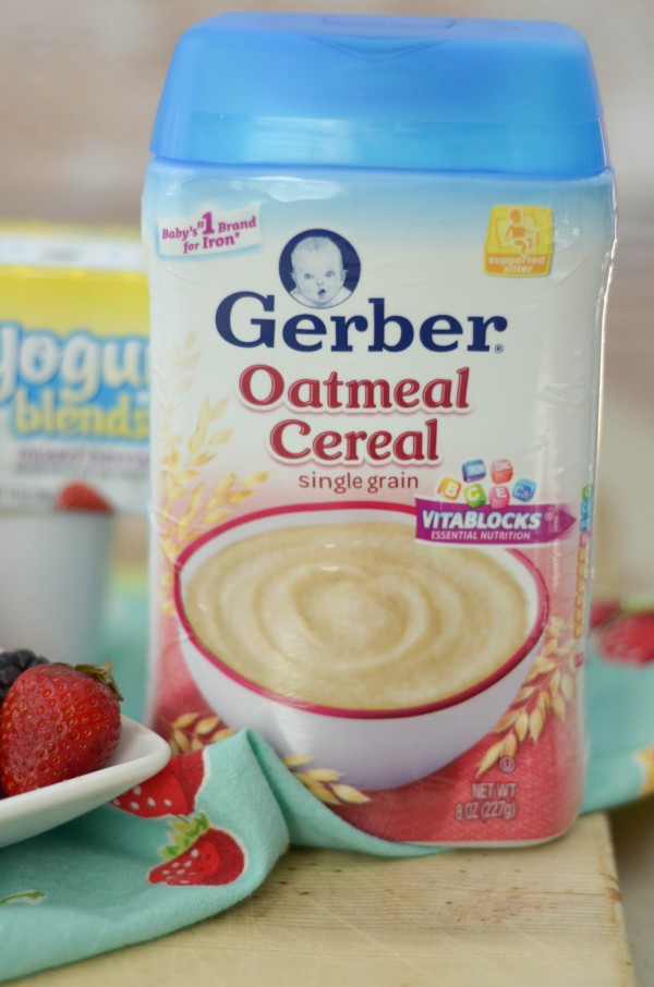 Berry Oatmeal Bread #CookingwithGerber #ad