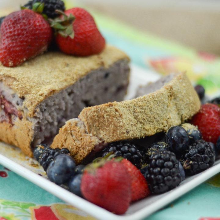 Berry Oatmeal Bread