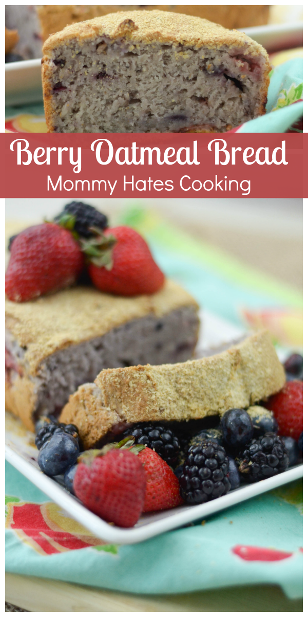 Berry Oatmeal Bread plus Giveaway - Mommy Hates Cooking