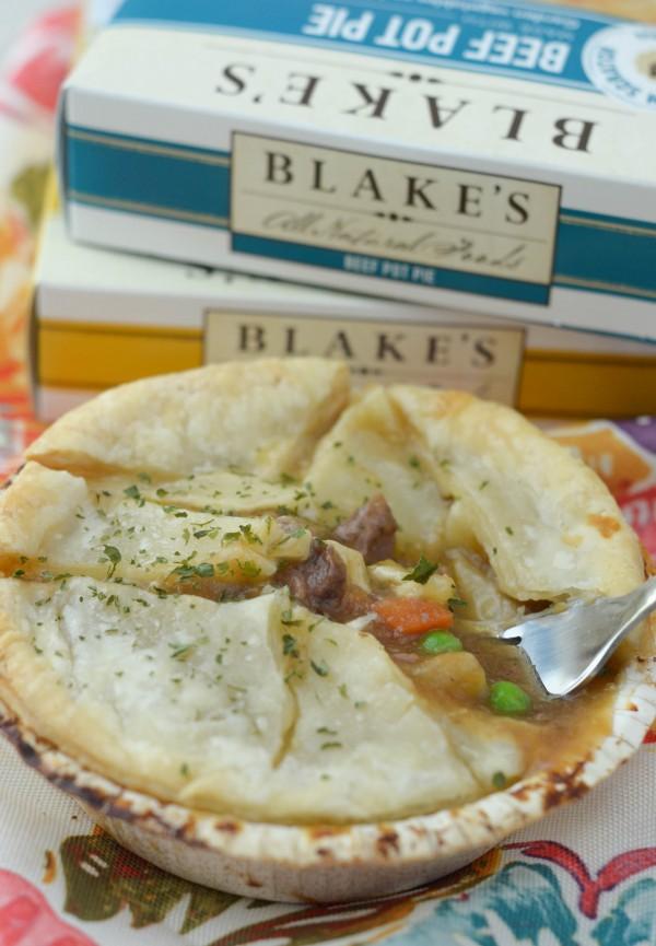 Enjoying Blake's All Natural Pot Pies #BlakesLove #ad