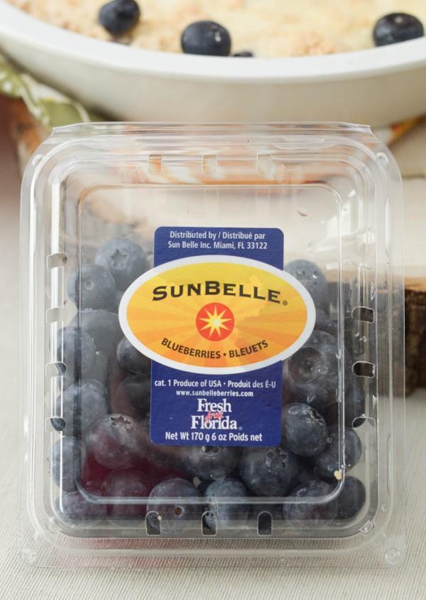 Blueberry Crumb Cobbler #FreshfromFlorida #ad #IC