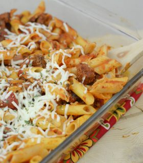 Homestyle Cheesy Penne