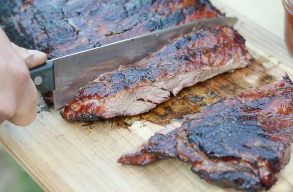 Maple Glazed Ribs #HogWildThrowdown #ad
