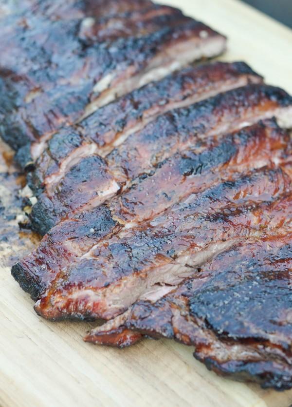 maple glazed ribs