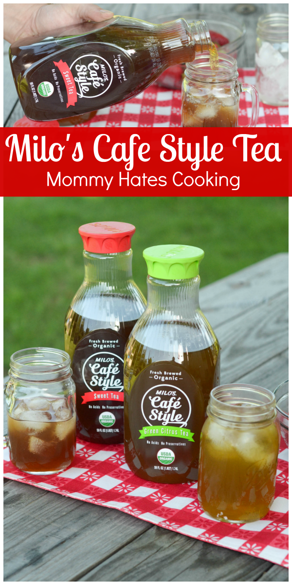 Summer Cookouts with Milo's Cafe Style Tea #TastetheMilosDifference #PMedia #ad