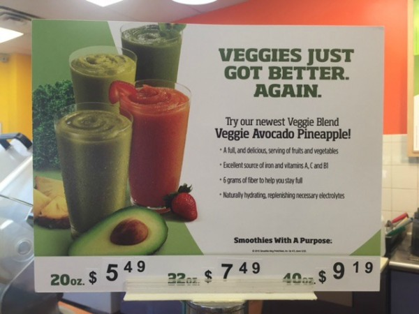 New Veggie Blends at Smoothie King #BlendMoreVeggies #ad #SmoothieKing