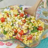 Roasted Summer Corn Salad
