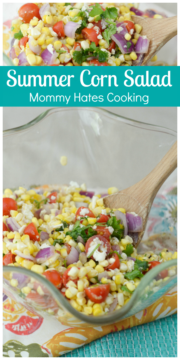 Roasted Summer Corn Salad - Mommy Hates Cooking