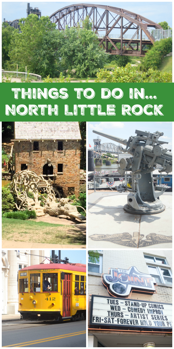 Exploring North Little Rock - Your Gateway to Central Arkansas #ExploreNLR #ad