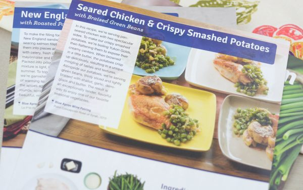 Making Dinner Easy with Blue Apron