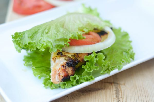 Lettuce Wrapped Chicken Sandwiches