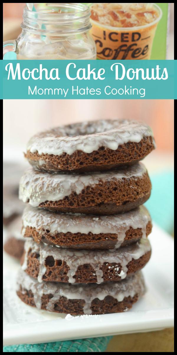 Mocha Cake Donuts #IDelight #ad