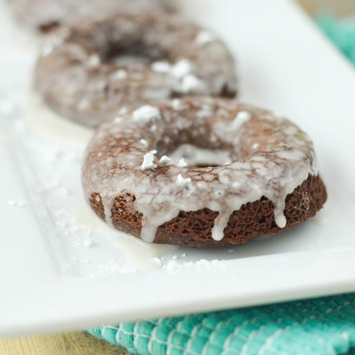 Mocha Cake Donuts