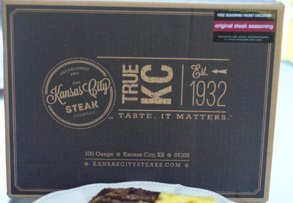 Mushroom Topped Steaks #JustAddDad #KCSteaks #Ad