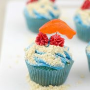 Ocean Friends Cupcakes & Ocean Themed Foods
