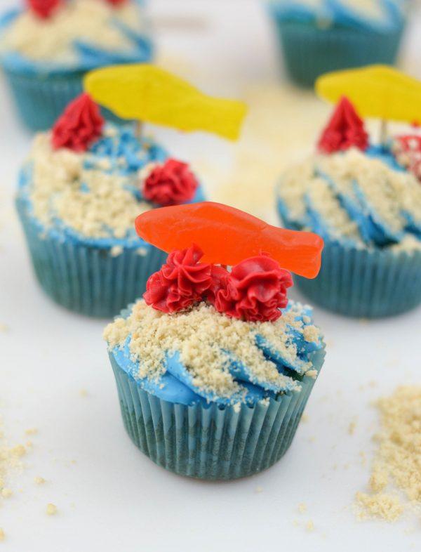 Ocean Friends Cupcakes