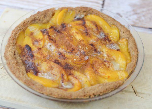Gluten Free Peach Pie