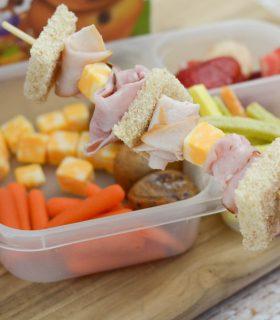Sandwich Skewers for Back to School