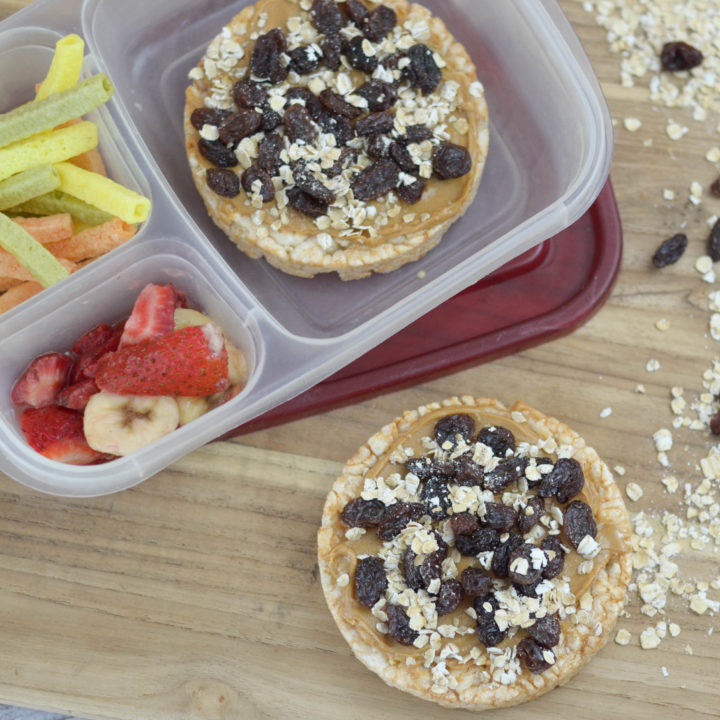 Protein Packed Rice Cakes