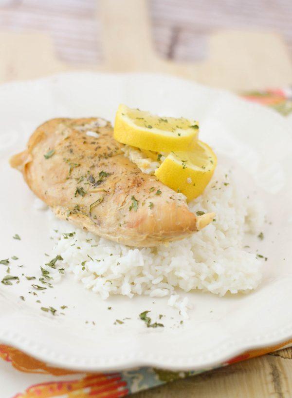Slow Cooker Lemon Ranch Chicken