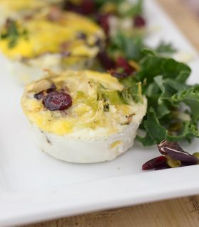 Sweet Kale Egg Cups