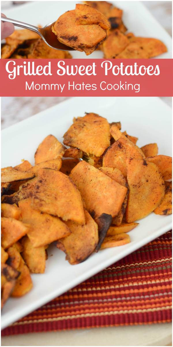 If you are having a cookout, these Grilled Sweet Potatoes are a must ...