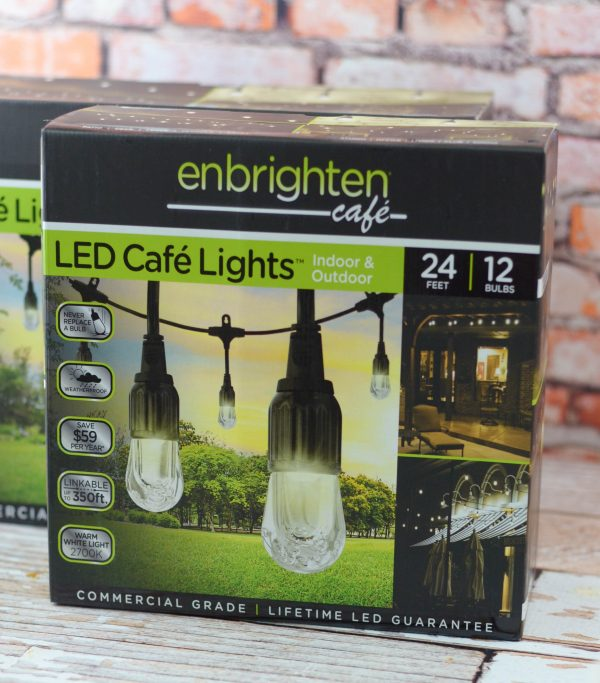 String Lights For Under Cabinets : Create Under Cabinet Lighting with Enbrighten Life - Mommy Hates Cooking