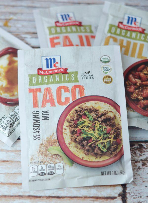Tater Tot Taco Casserole #McCormickDinners #ad