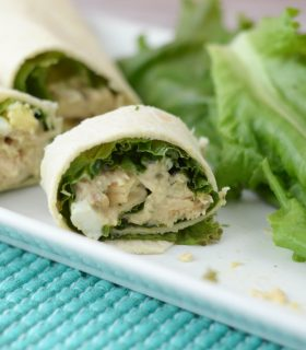 Tuna Salad Pinwheels