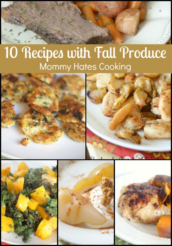 10 Recipes with Fall Produce