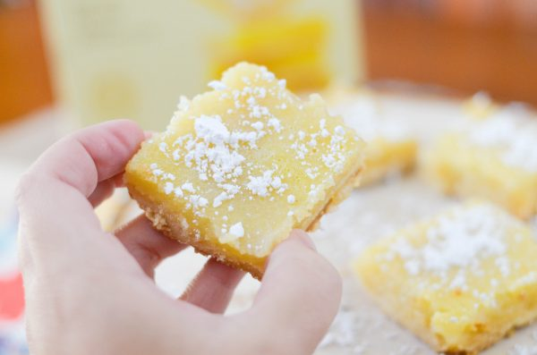 Old Fashioned Lemon Bars