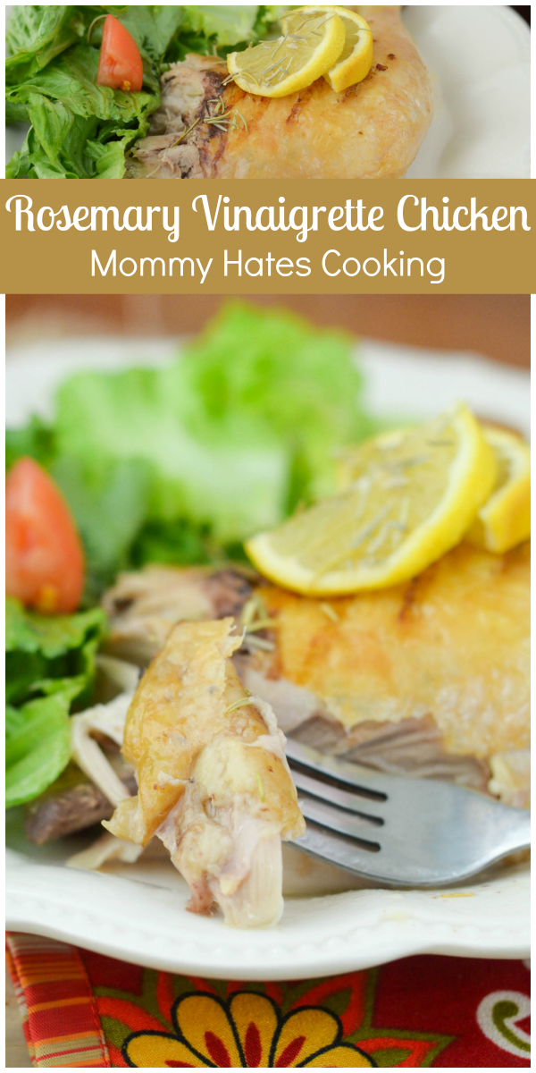 Rosemary Vinaigrette Chicken