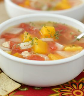 Slow Cooker Chicken & Vegetable Soup