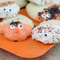 Spooky Sugar Cookies