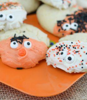 Spooky Sugar Cookies & Halloween Recipes